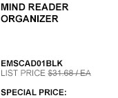 Mind Reader Organizer