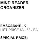 Mind Reader Organizer