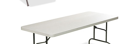Lorell Ultra-Light Banquet Table
